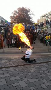 Rudis Feuershows